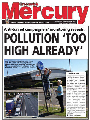 Greenwich Mercury, 17 September