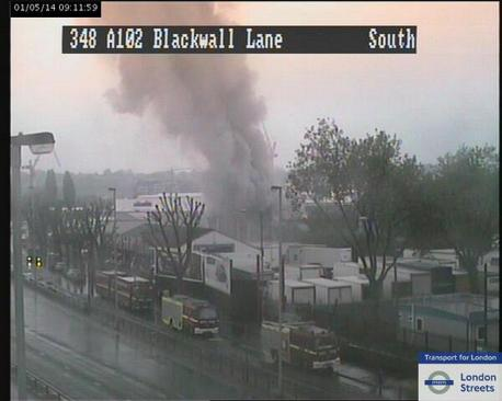 TfL traffic cam shot
