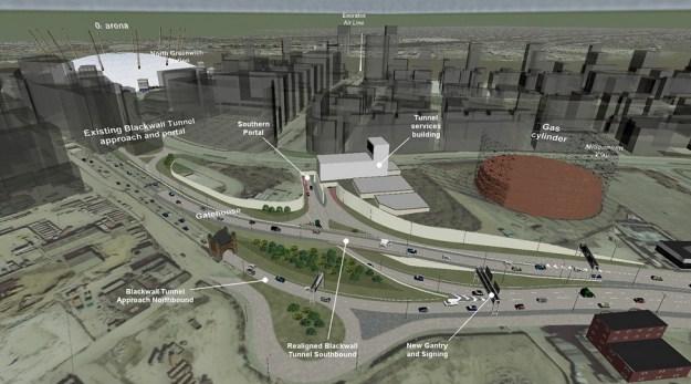 Silvertown Tunnel south proposal
