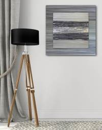 Contemporary Black Wall Art UK - Silver Wall Art ...
