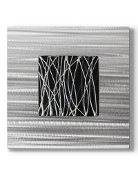 black silver wall art metal - Silver Wall Art ...
