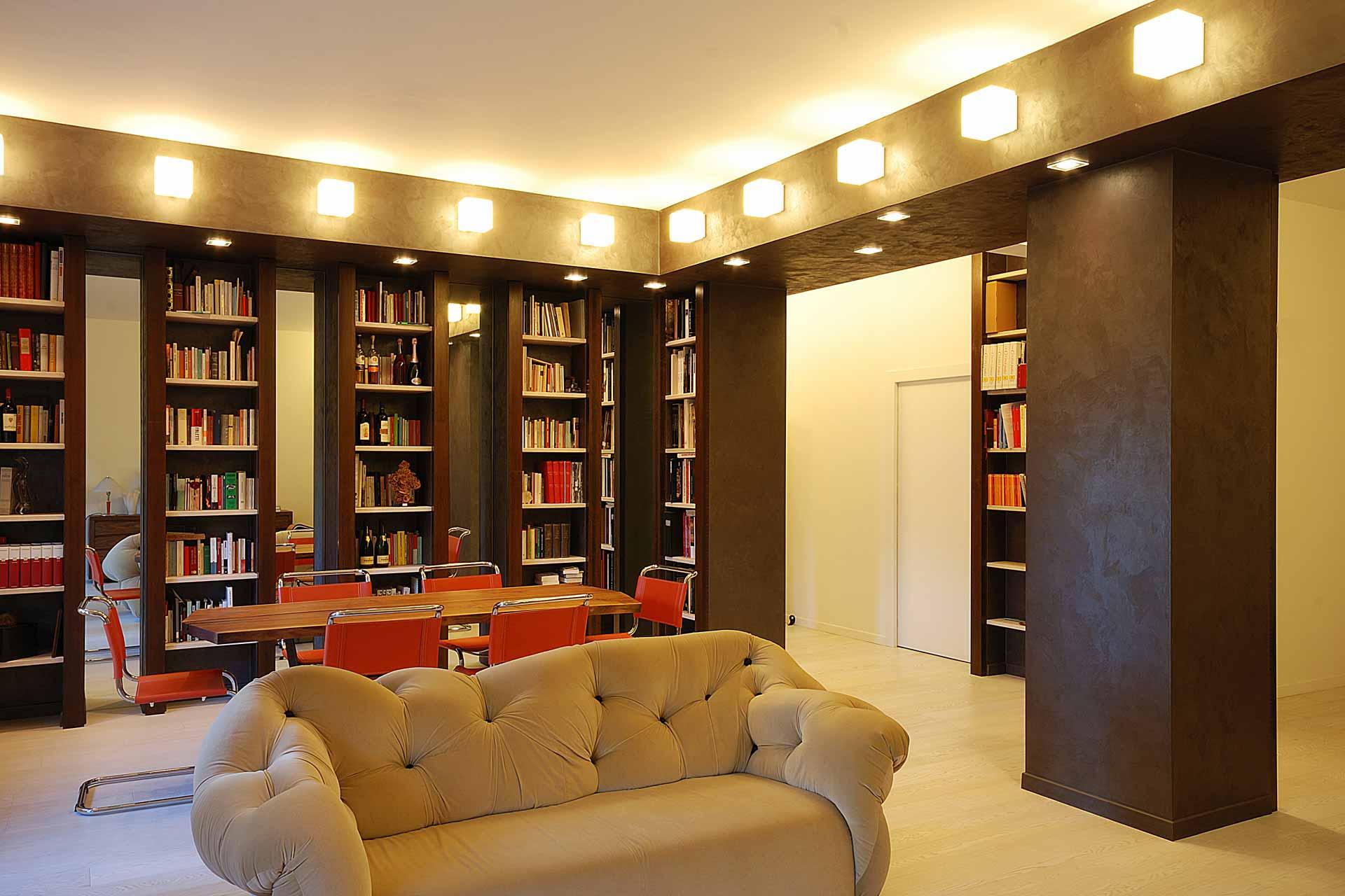 Una casa per una coppia di appassionati di interior design.
