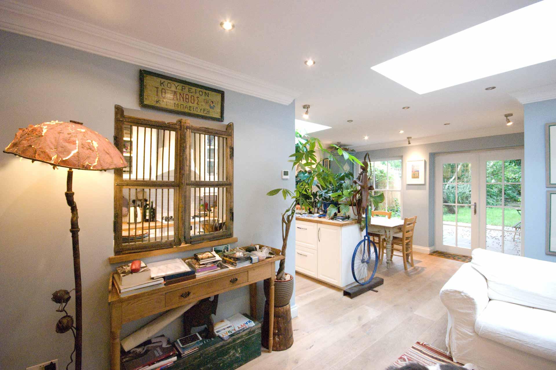 Una casa a Londra:000 ricordi, oggetti, memorie. Un progetto di Roberto Silvestri Architetto