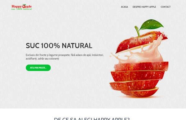 happy-apple webdesign cluj