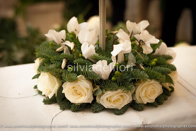 I fiori per il matrimonio di dicembre  Silviadeifiori
