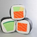 Sushi Pillow, el complemento perfecto para los amantes de la comida japonesa