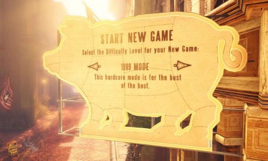 El Modo 1999 es el cuarto y último novel de dificultad de Bioshock Infinite