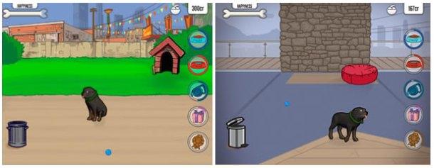 Algunas imágenes in-game de Chop the Dog
