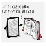 Humor Gráfico: Book vs eBook