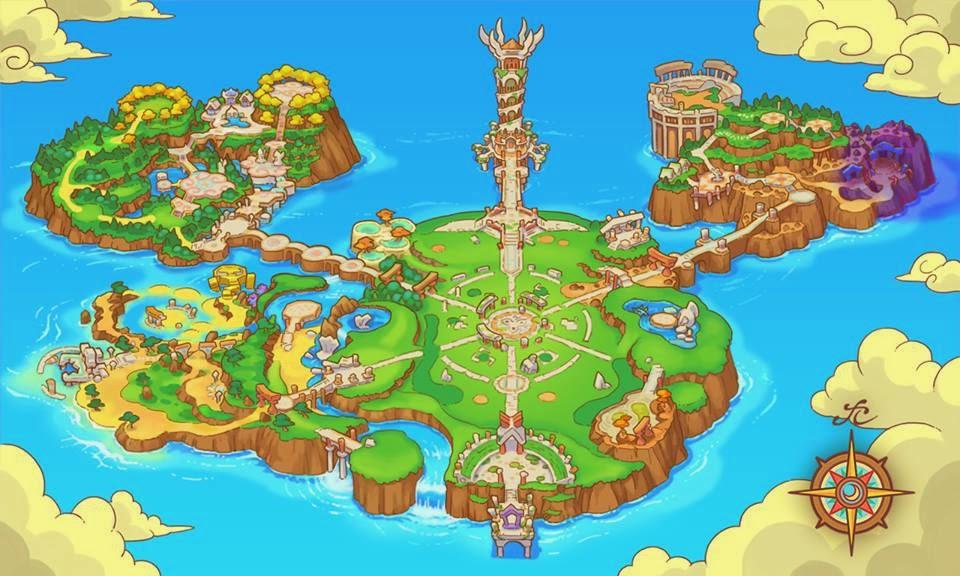 Mapa de la Isla Primigenia