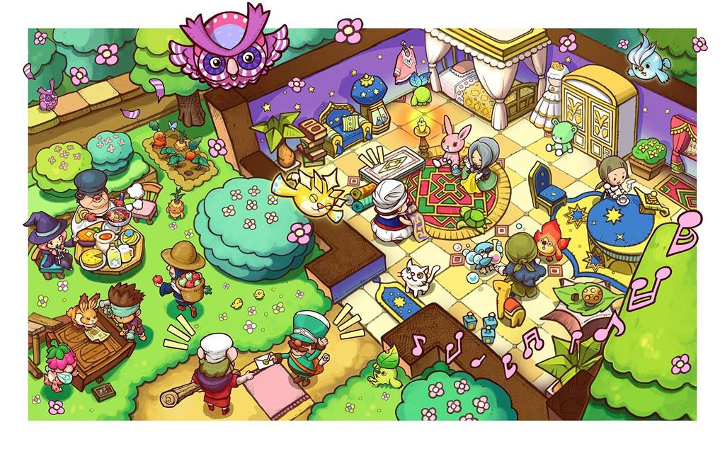 Los 12 oficios de Fantasy Life