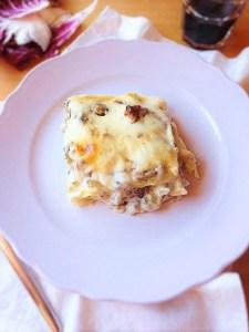 Lasagne salsiccia carciofi