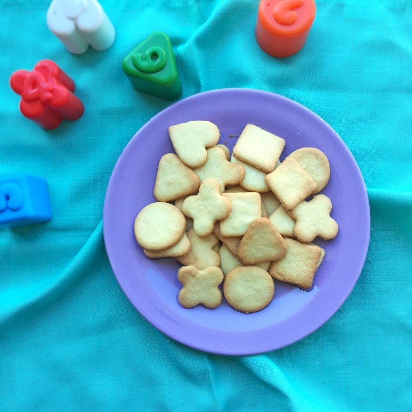 Biscotti con la pasta frolla senza burro-ricetta-colazione-merenda-bambini