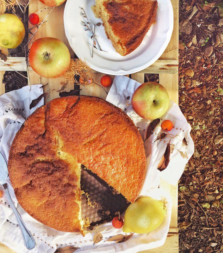 Torta di mele e cannella.