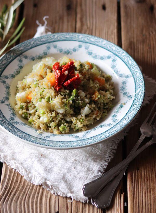 Ho scoperto la quinoa, ma ci sto ripensando. Riflessione + ricetta.