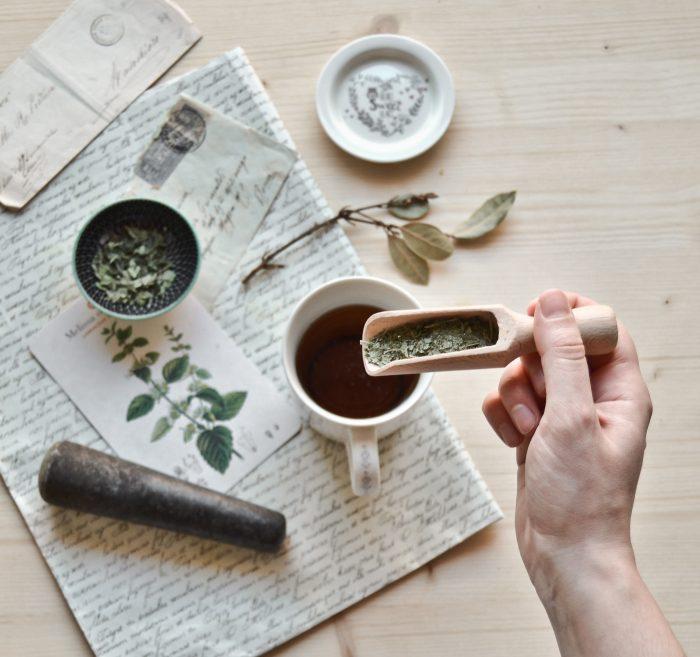 Fabrizia e la sua passione per le erbe aromatiche