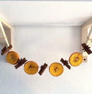decorazione natale arance