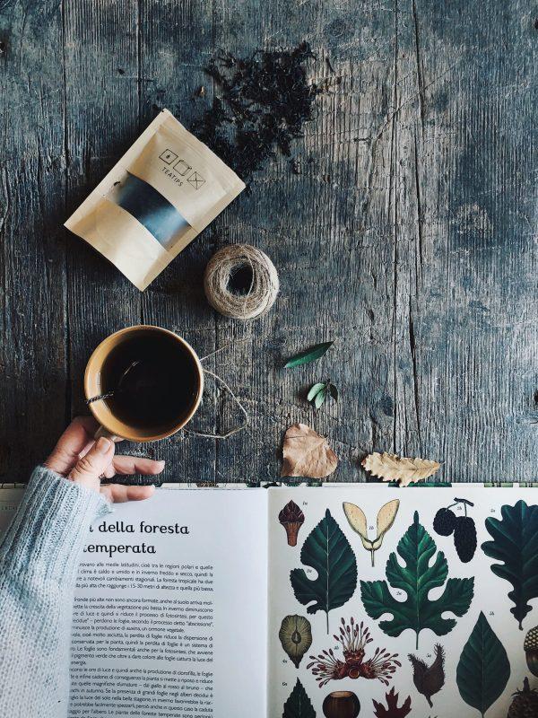 un buon tè, un buon libro e buona musica