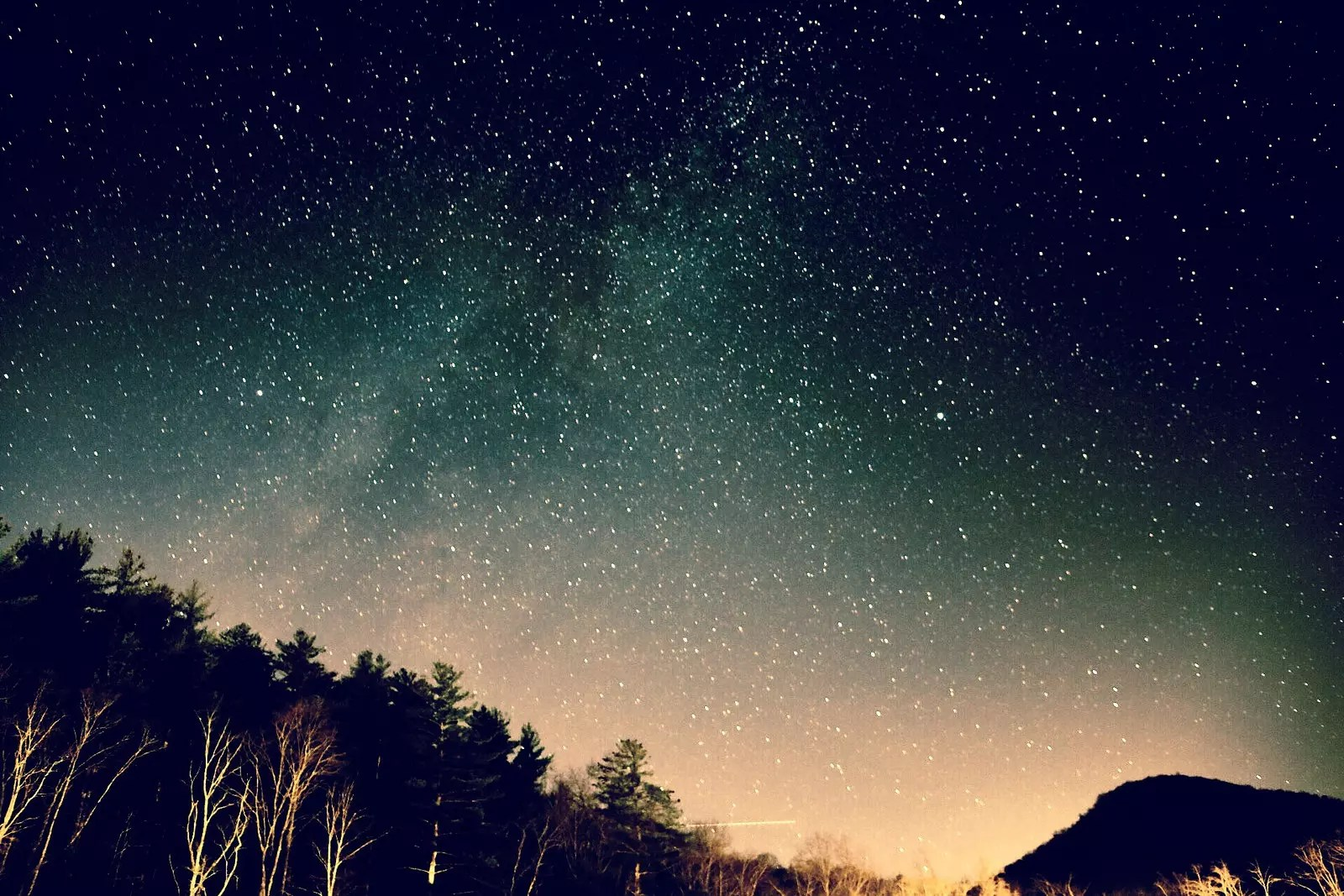 Night sky photo.
