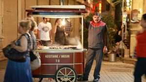 Silvio Palladino Documentary Photography street vendor Istanbul