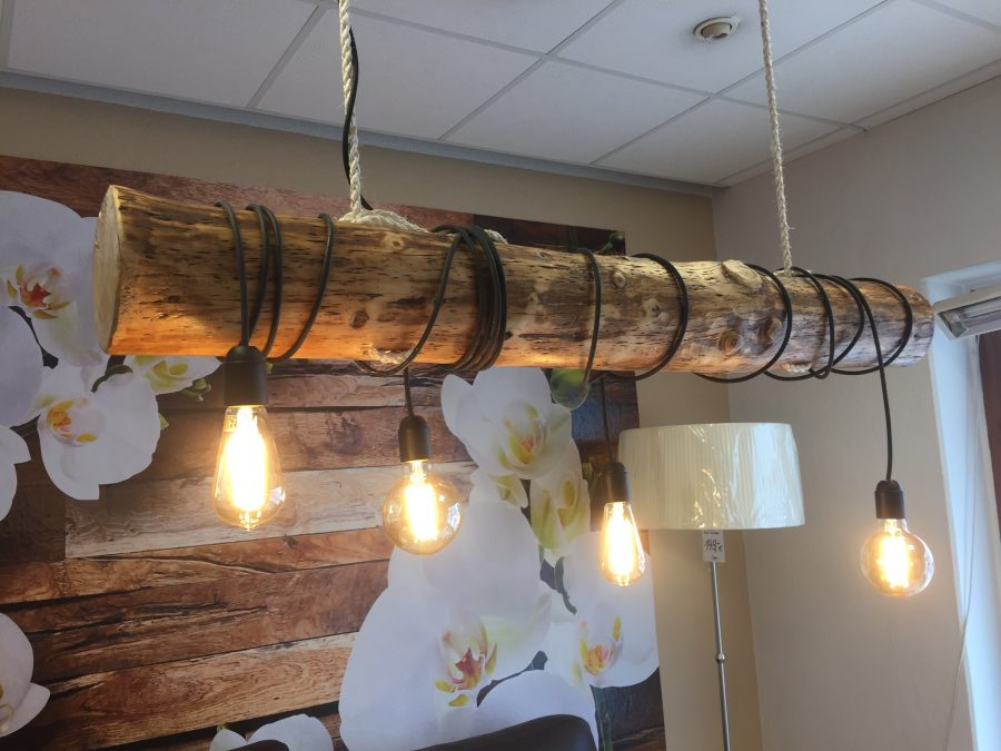 Altholz Lampe 120cm  Simankow