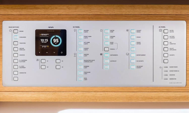 marine battery monitoring system downlights wiring diagram simarine nereide smart power panel