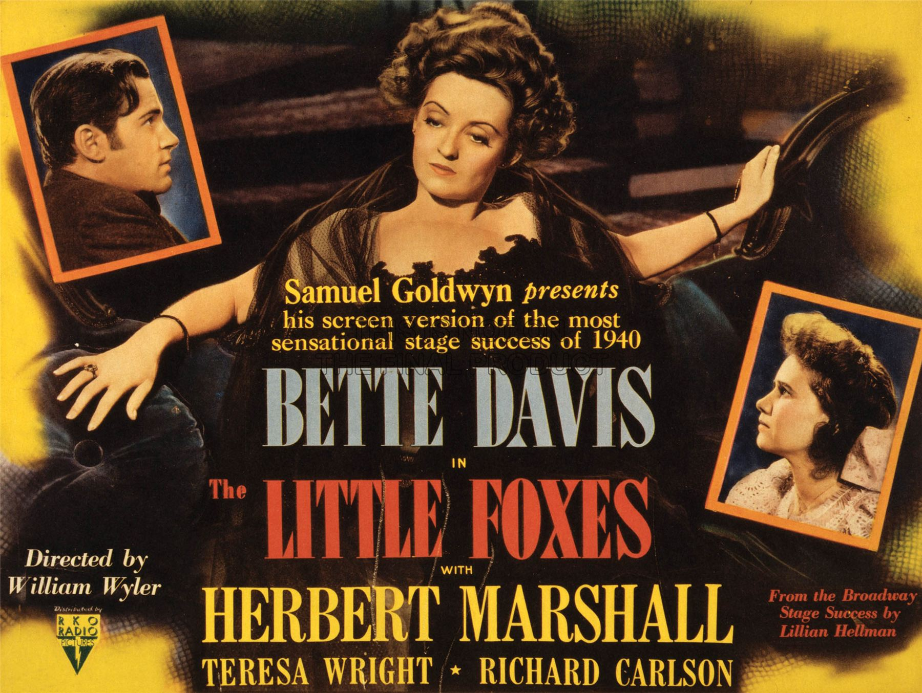 Image result for the little foxes 1941