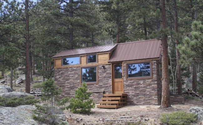 Simblissity Tiny Homes Stone Cottage