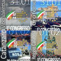 SIM CC Calabria: elette tutte le segreterie provinciali