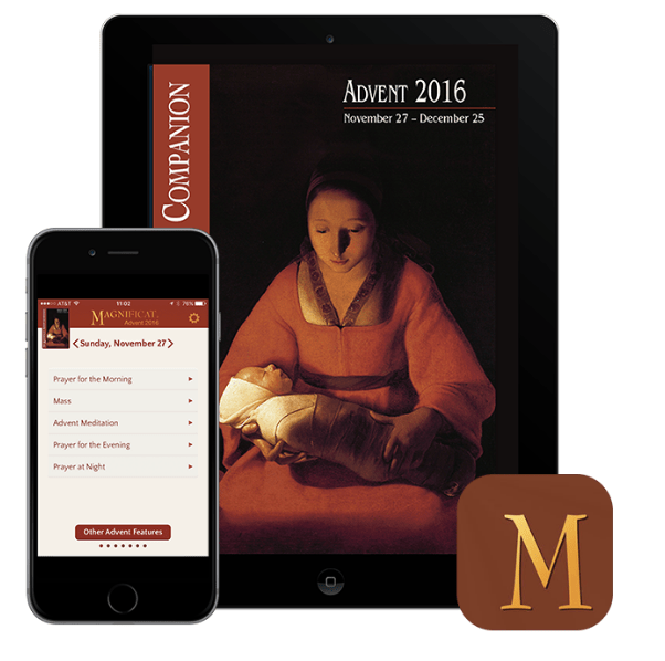 Magnificat app winners are…