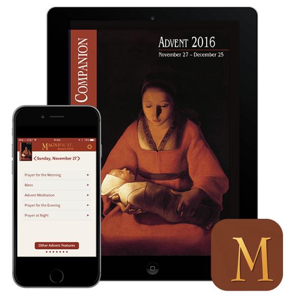 Giveaway! The 2016 Magnificat Advent Companion app