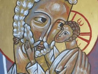 Caress: Iconography for the Incarnation