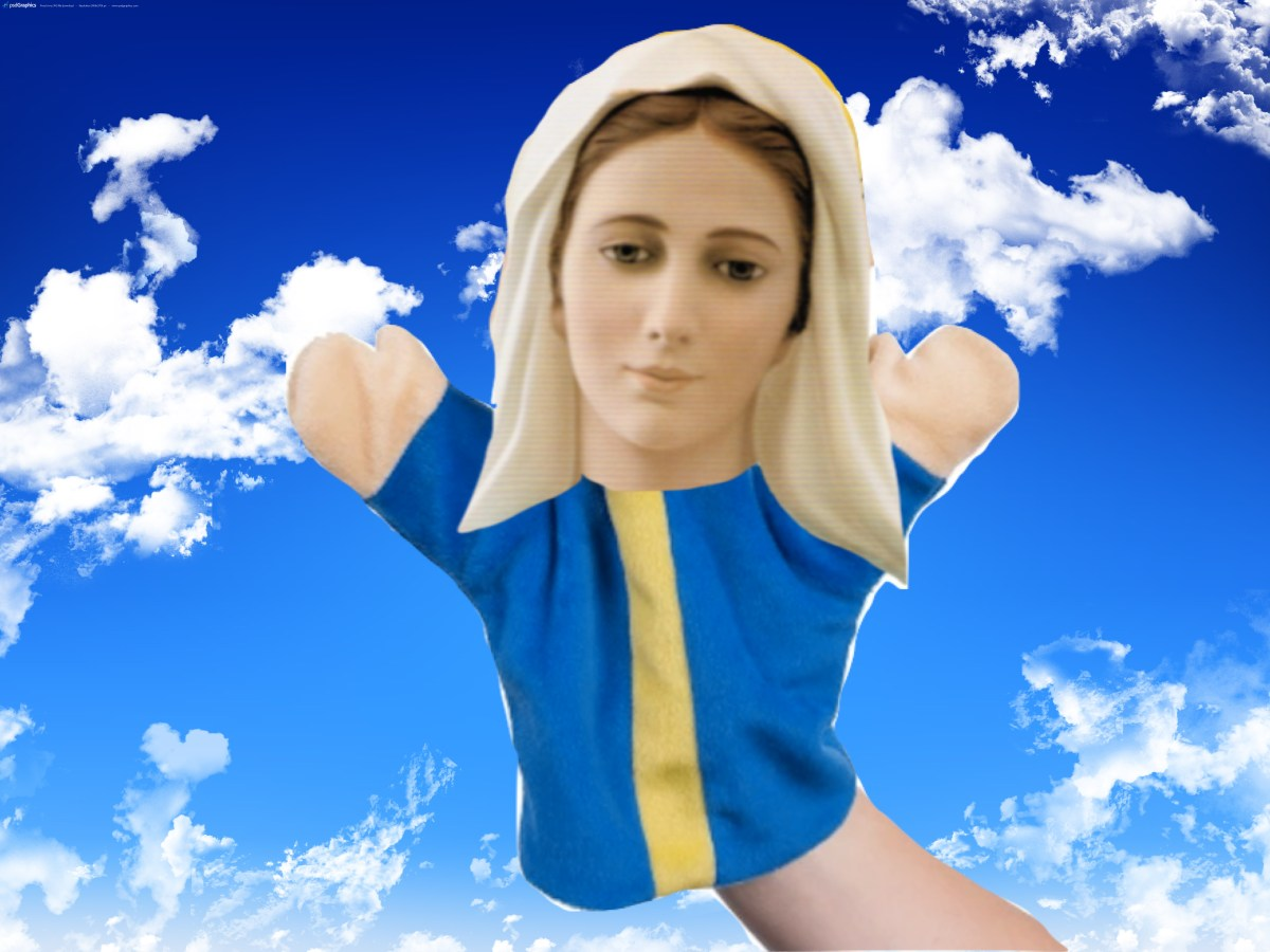 The lady of Medjugorje is not your mother