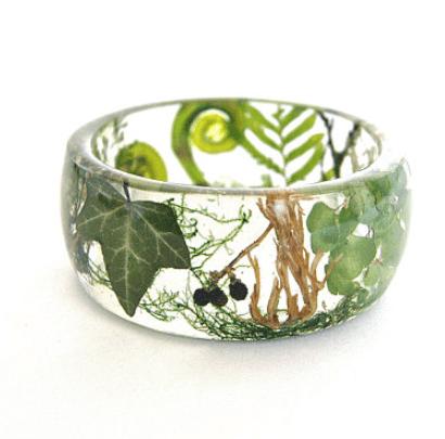 Elegant OceanPetal Art Studio Flower Jewelry (Etsy)