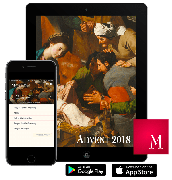 2018 Magnificat Advent Companion app giveaway!