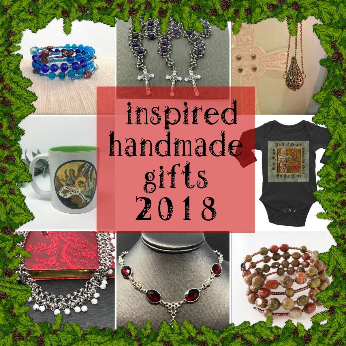Inspired gifts handmade by working moms, 2018