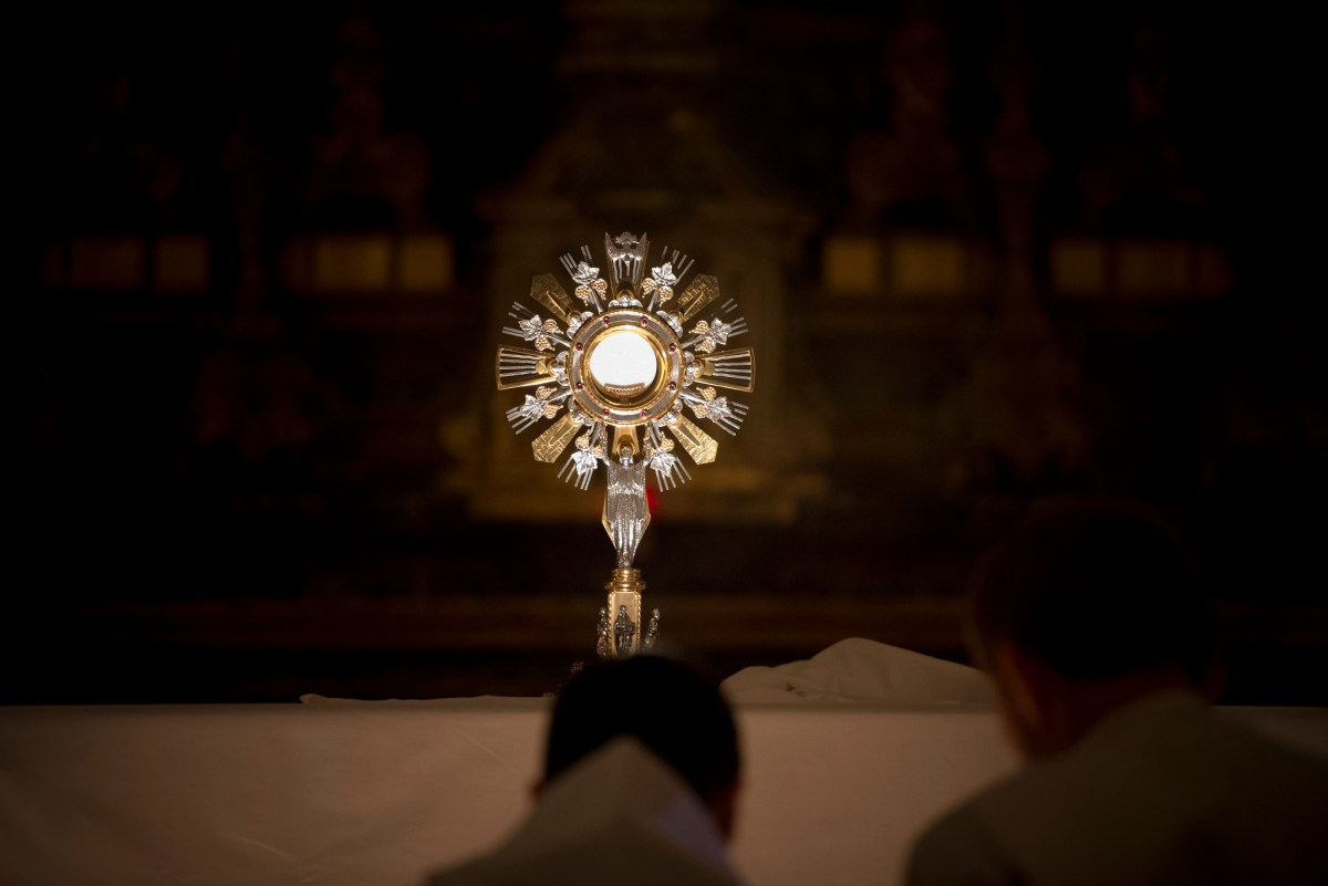 Confirmation candidates need Eucharistic Adoration