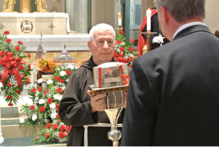 Padre Pio's relics touring North America (and here's what my husband said about his heart)