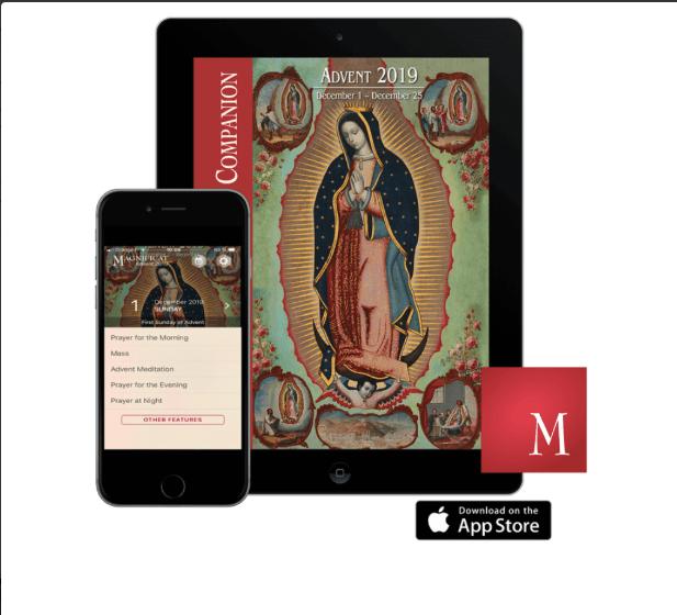Magnificat Advent Companion app giveaway!