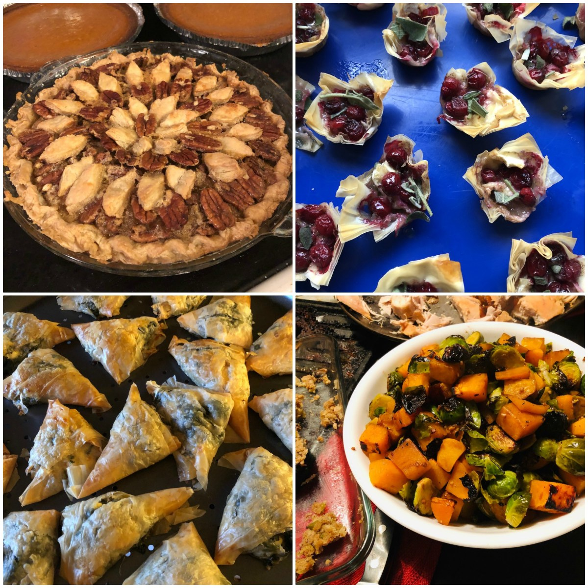 What's for supper? Vol. 194: Cranberry brie tarts! Spanakopita pockets! Sausage oyster stuffing! The Thanksgiving 2019 feast.