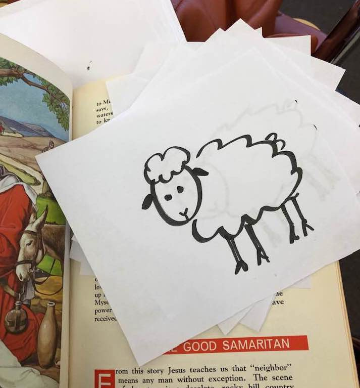 How I'm teaching about confession with the Sheep Game
