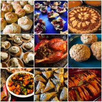 All the Fisher Thanksgiving dinner recipes!