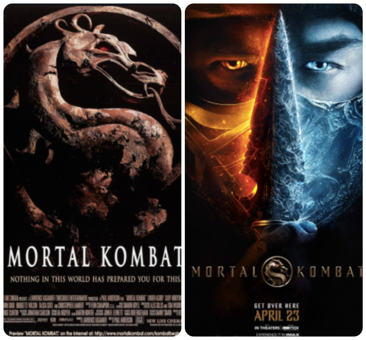 Double Feature with the Fishers, new podcast episode: MORTAL KOMBAT and MORTAL KOMBAT