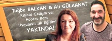 Tuğba Balkan Ali Gülkanat Access Bars Kişisel Gelişim Eğitimleri