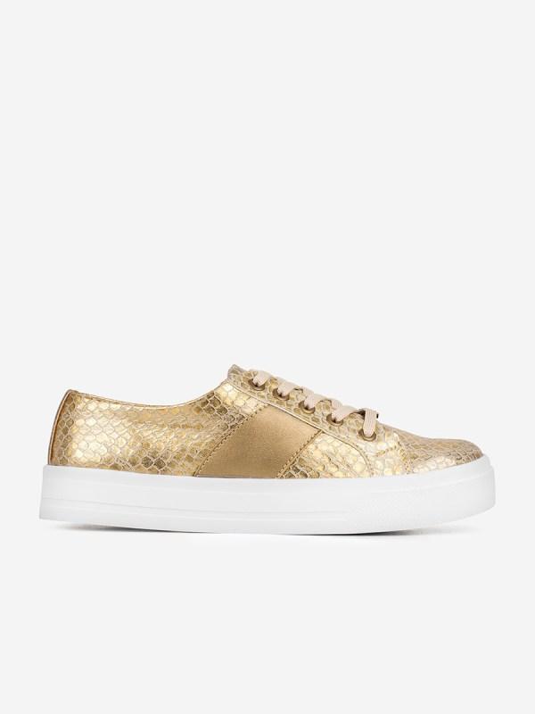 CLOE01, Todos los zapatos, Tenis, ORO_D