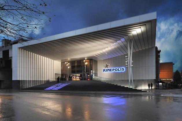 Kinepolis Movie Theatre Simes S P A Luce Per L Architettura