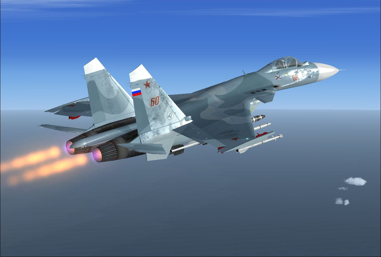 FlyFreeSTD Flanker D Su 33 The Famous Russian Fighter