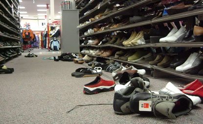 after everyone turned zombie zellers was the first thing to go - photo