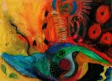 Firebird by Vermont artist Simi Berman