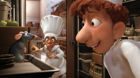 The cook, the boy, and his rat